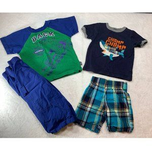 Lot of 2 Boy Outfits 24m/2T Thomas The Train